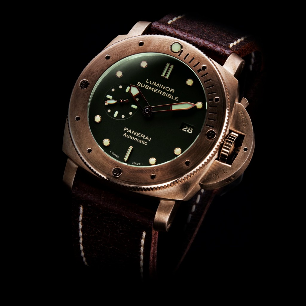 Replica PANERAI 1950 Luminor Submersible 3 Days Bronzo PAM00382