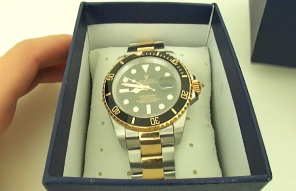Replica Rolex Submariner Two-Tone