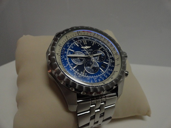 Fake-Breitling-For-Bentley-Motors-T-Blaues-Zifferblatt