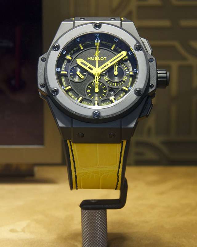 Hublot King Power 692 Bang Replik Uhr Vorne