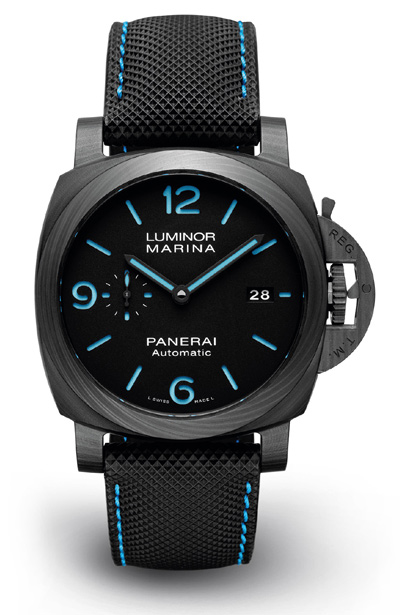 Panerai Luminor Marina Carbotech Blau Replica