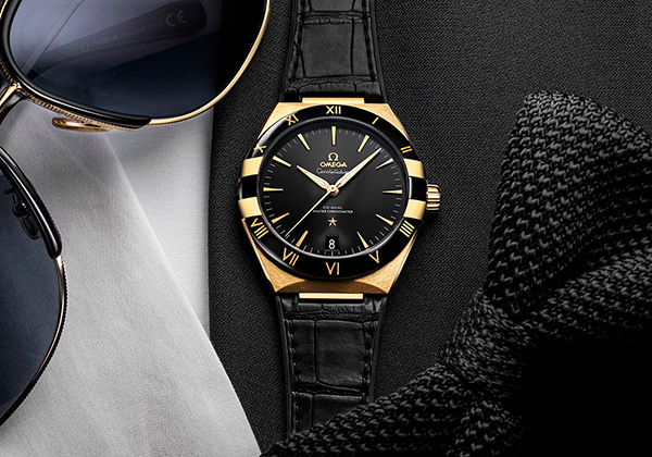 Omega Constellation Noir Replica Uhren