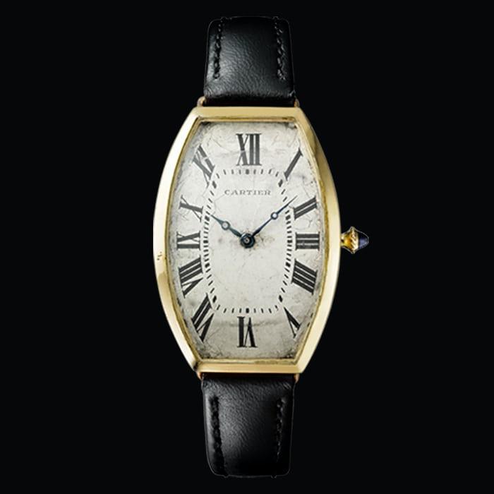 Cartier Privé Tonneau Replik Uhr